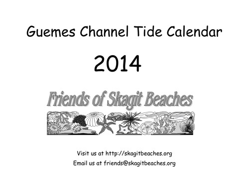 FOSB 2014 Tide Calendars Available